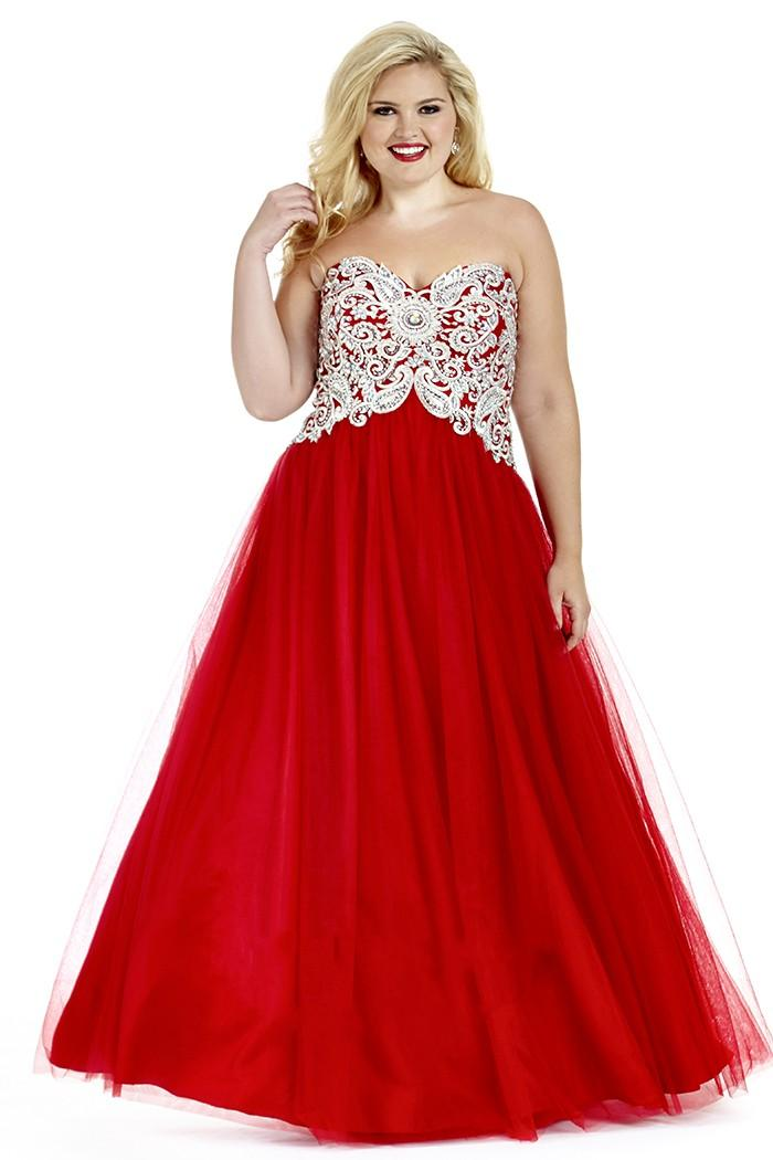 Popular Red Prom Dresses Plus Size-Buy Cheap Red Prom Dresses Plus ...