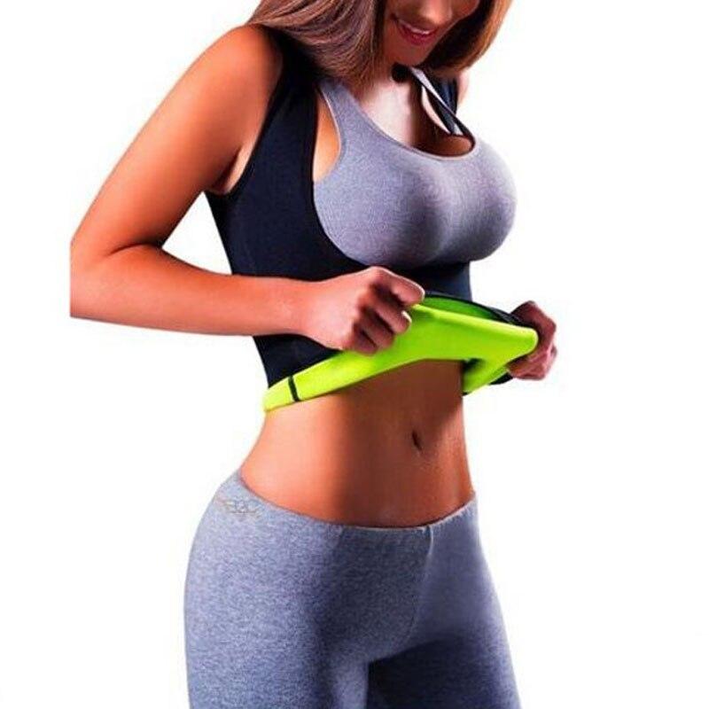 Women Shapers Mujer Sauna Sweat Neoprene Body Slimming Wrap Push Up Waist Trainer Tummy Slim Patch Fat Burning Weight Loss