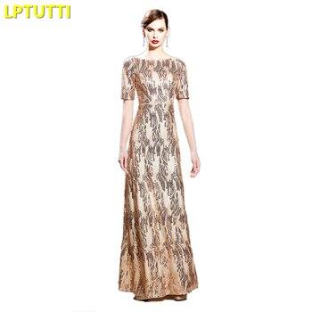 7d1ce4dd3 LPTUTTI de Gratuating nuevo para las mujeres elegante fecha ceremonia  fiesta vestido de Gala Formal de lujo vestidos noche largo