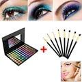 Eyeshadow Kit 88 Color Shadow Palette Make Up Eyeshadows + 8pcs Eye Foundation Blending Brush