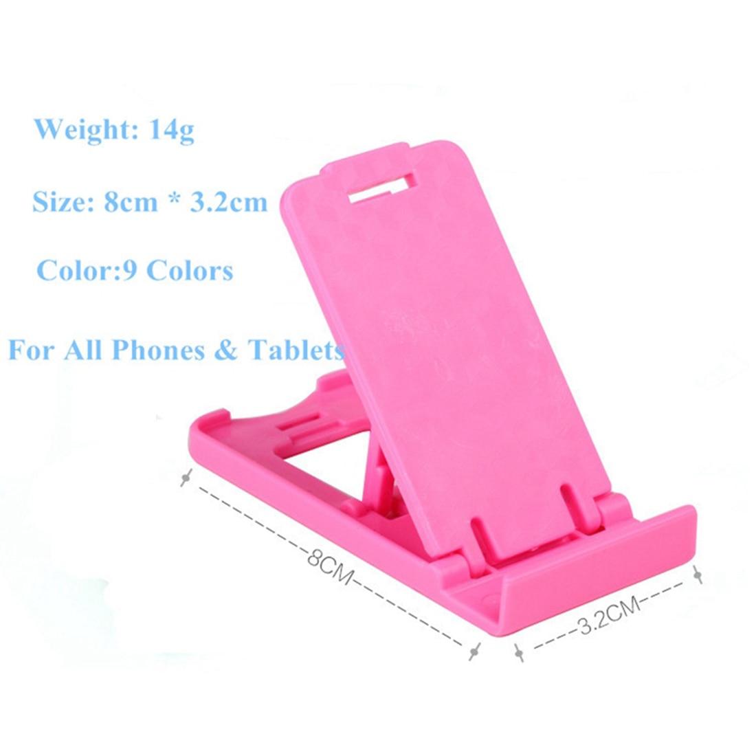 Etmakit Hot Sale Stand Phone Holder For Smartphone Folded Holder Adjustable Support Cell Mobile Phone Holder Random Color Сотовый телефон