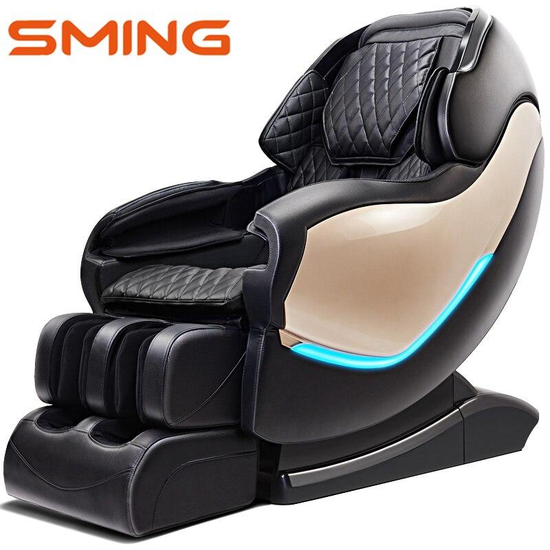 Chaud!! SM-900L 130 cm SL rail maison corps complet pétrissage automatique 3D manipulateur espace capsule électrique luxe massage chaises