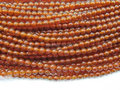 """free Shipping New Fashion diy 2mm Red Agate Round Beads jewelry Jasper Natural Stone 15""""MY4997 Wholesale Price"""