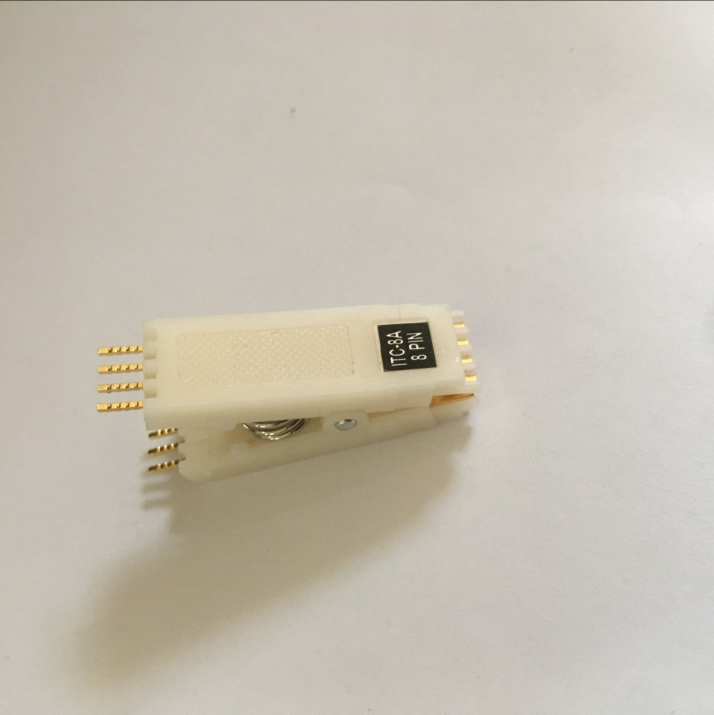 DIP8 ic test clip ic flash clip 2.54 mm 1pcs/Lot Free freight