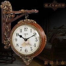Vintage Wall Watch Mechanism Double Sided Clock Pow Patrol Digital Clocks Relogio Parede Loft Gift Ideas 282