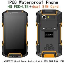 Original Huadoo HG04 MSM8926 Quad Core IP68 rugged Android 4.4 Waterproof Phone 4.7″ OGS 4G FDD LTE GPS 2GB RAM 13MP Camera HG06