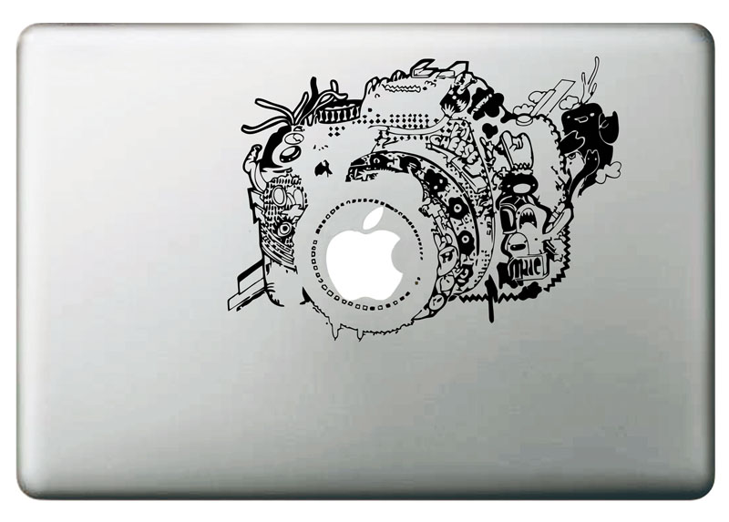 Us 4 85 46 Off Vintage Camera Vinyl Decal Sticker For Diy Macbook Pro Air 11 13 15 Inch Laptop Case Cover Sticker In Laptop Skins From Computer