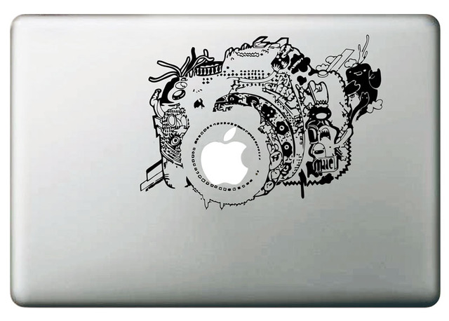 low priced c125e 69300 Vintage Camera Vinyl Decal Sticker for DIY Macbook Pro / Air 11 13 ...