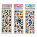 100 Sheets Cartoon  Animal Cartoon Pikachu  DIY Stickers Cartoon Bubble Stickers Toys