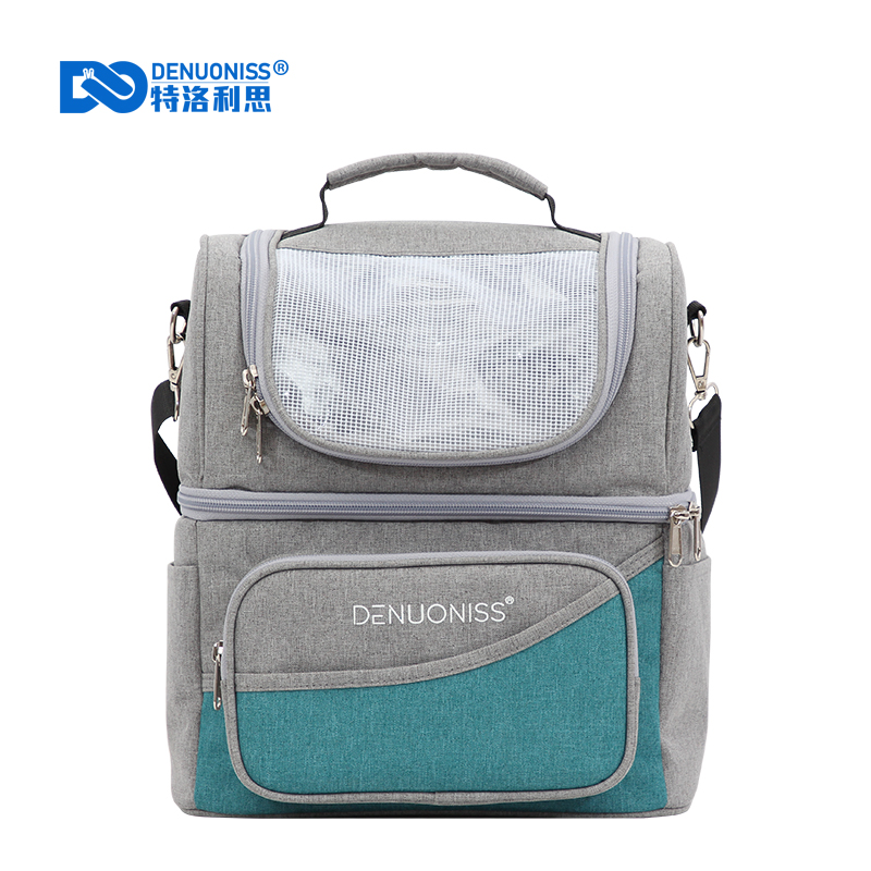 DENUONISS Insulation Lunch Box Bag Waterproof Large Capacity Aluminum Foil Ice Pack Cooler Bag Thermo Bags Poche De Glace