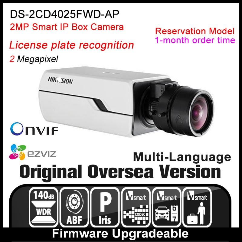 Hikvision   DS-2CD4025FWD-AP Original English Version IP camera 2MP security camera CCTV camera P2P ONVIF POE indoor HD H265 cd диск fleetwood mac rumours 2 cd