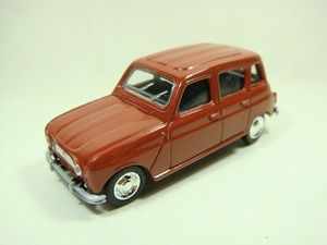 N orev 1:64 RE NAULT 4L 1964 red boutique alloy car toys for children kids toys Model Bulk freeshipping(China)