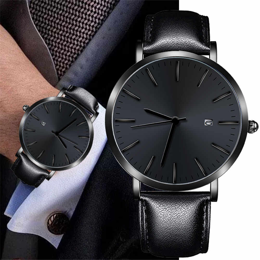 Ultra Thin Watches For Men Business Casual Design Watch Stainless Steel Couple Quartz Analog Wrist Watch reloj hombre Hot #10