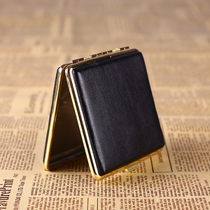 Image 5 - IMCO Original Cigarette Case Cigar Box Genuine Leather Tobacco Holder Pocket Storage Container Smoking Cigarette Accessories