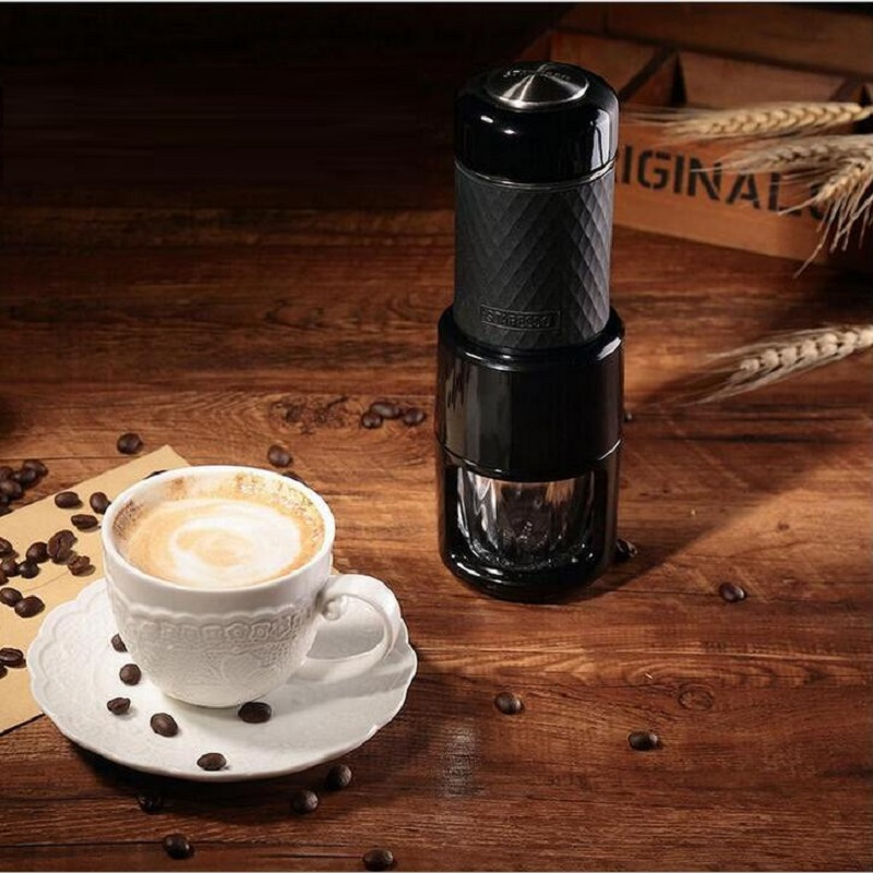 Ecombird Портативный многофункциональный мини чайник Руководство сосредоточены эспрессо, капучино холодной варить кофе машины все в одном