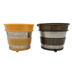2pcs/lot slow juicer hurom spare parts,Ultem Strainer Fine & Coarse Filter net of juice extractor HU-500DG,HU-100PLUS HU-780