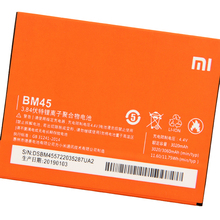 Xiao Mi Xiaomi BM45 Phone Battery For mi Redmi Note 2 redmi nota2 Redrice Note2 3060mAh Original + Tool