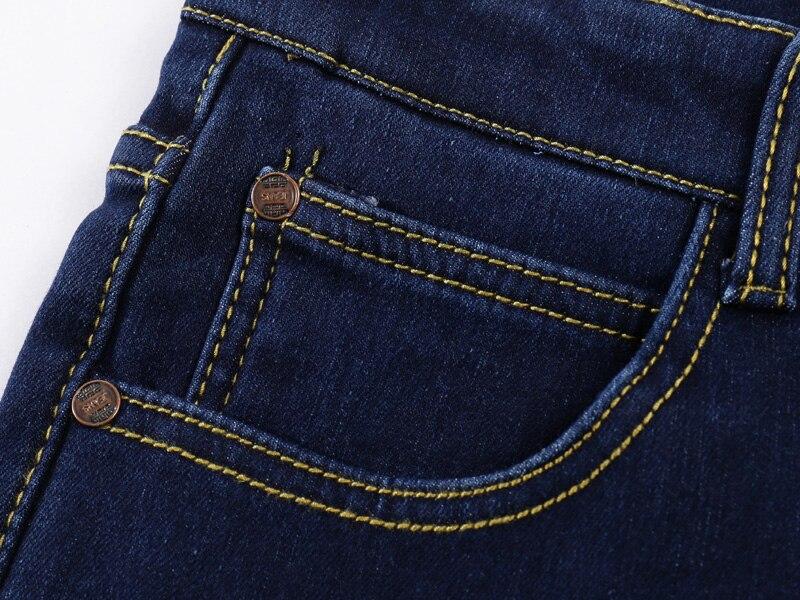 Lichte Spijkerbroek Heren : Goede koop new mode heren ontwerpers straight katoen stretch