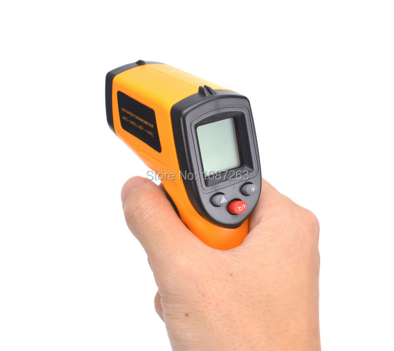 Laser Lcd Digital Termomete Infrared Thermometer Ir Gun