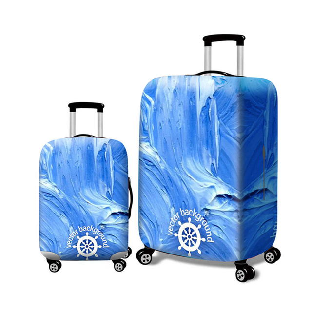 HMUNII New Thicker Travel Luggage Suitcase Protective Cover for Trunk Case Apply to 18''-32'' Suitcase Cover Elastic Perfectly 3