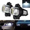 2 шт./компл. СИД Автомобиля Чайник Angel Eyes LED Halo Кольцо Лампочки 880LM Для BMW E90 E91 Супер Яркий Белый Фар 6000-6500 К 8-30 В