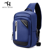 ARCTIC HUNTER Fashion Brand Men S Chest Pack Oxford Waterproof Wear Resisting External USB Charge For