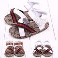 Verano Primeros Caminante antideslizante Del Bebé Del Muchacho, niños/Recién Nacido Prewalker Suave de Los Zapatos