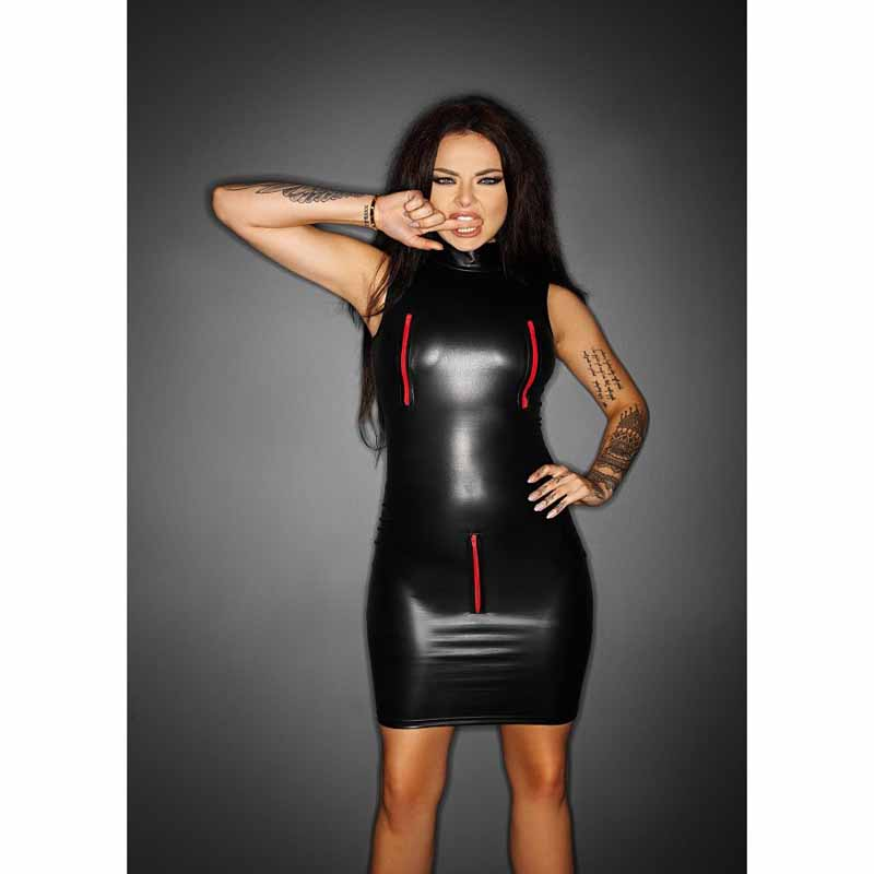 Latex rubber be customized good body sexy spandex suit latex dresses erotic hot lingerie leather costume for dance clubwear