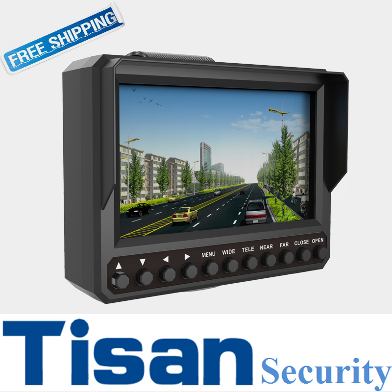 Latest 4.3 inch 5MP AHD TVI 1080P CVI CCTV tester monitor CVBS Analog camera tester DC 12V 5V output 4 in 1 ir high speed dome camera ahd tvi cvi cvbs 1080p output ir night vision 150m ptz dome camera with wiper