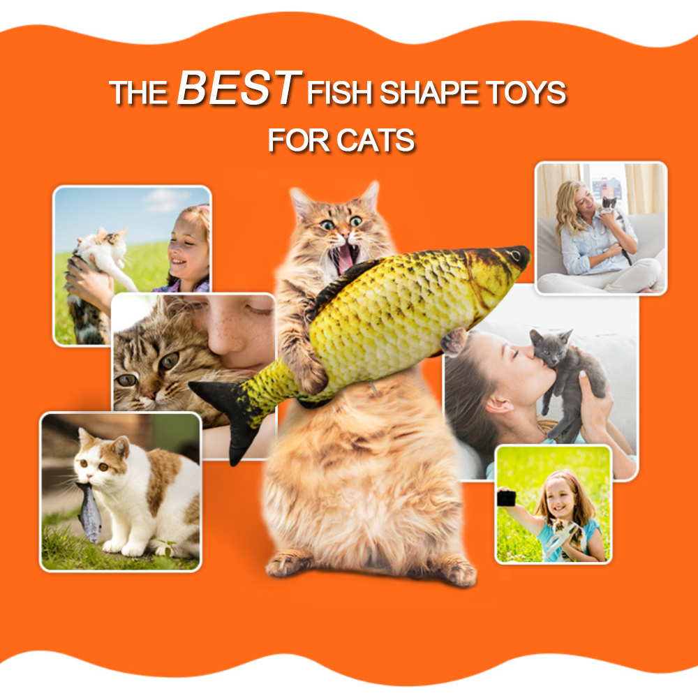 7 Style Catnip Toys for Cat Cats Fish Pet Toys For Kitten Cushion Grass Bite Chew Scratch Pillow Cats Supplies Pet Products Play 1
