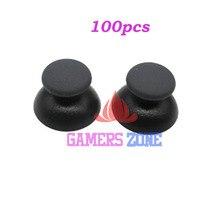 100 adet Analog Joystick Thumbstick kauçuk kapak Sony PS3 PlayStation 3 Denetleyici