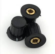 4mm black knob button cap is suitable for high quality WXD3-13-2W – turn around special potentiometer knob 5PCS