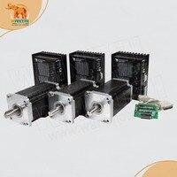 High Quality 3 Axis Nema 42 Stepper Motor 4200oz In 8A CNC Bipolar 110 220VAC Driver