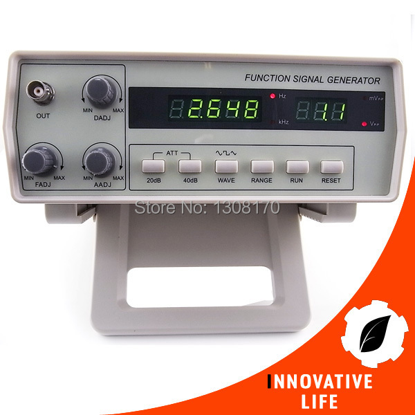 все цены на  Digital Function Signal Generator 0.2Hz-2MHz with 7 Frequency range Sine Square Rectangle Sawtooth and Triangle Wave Form  онлайн