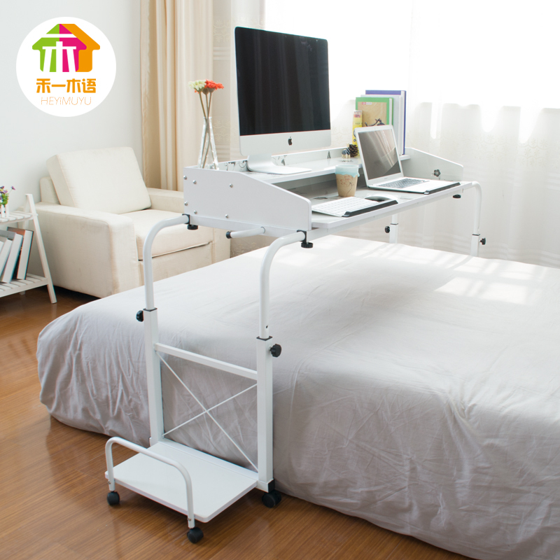 Ikea Simple Tilt Bed Laptop Desk Lazy To Move Across The Home Desktop Computer In Children Tables From Furniture On Aliexpress Alibaba