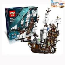 2016 LEPIN 16002 2791 Stks Piratenschip Metalen Baard's Zee Koe Model Building Kits Minifiguurtje Blokken Brick speelgoed legeod