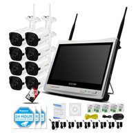 EINNOV Wireless Security Camera System 8CH CCTV NVR Kit 720P 8pcs Outdoor Bullet IP Camera HDMI
