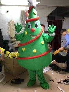 Image 4 - Christmas Tree Mascot costume Birthday Party Dress Halloween adult mascot costume mascotte costume hot sale