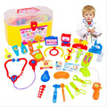 30Pcs/Set Baby Toys Pretend Play Doctor Play Sets Simulation Medicine Box Doctor Toys Stethoscope Injections For Children Gifts