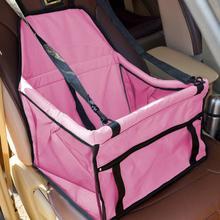 Folding Pet Dog Cat Car Seat Bag Carriers Pet Carrier Safety Mesh Dog Car Seat Protector Dog Mat Blanket Car Carriers for Pet