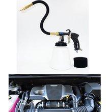 K106 ارتفاع ضغط اعصار أسود محرك السيارة المحمولة مسدس الغسيل مع أغطية جلد مرنة فوهة آلة غسل سيارات