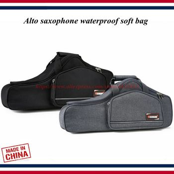 Saxophone accessories - saxophone case - Alto saxophone waterproof soft bag light backpack carry-on pack - saxophone parts фото