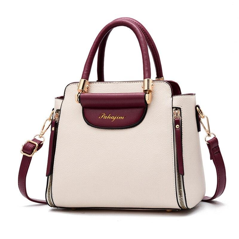 Womens Bag Shoulder Tote handbag Zipper Purse Top-handle Zip Bags Ancient Egypt Scene Mythology