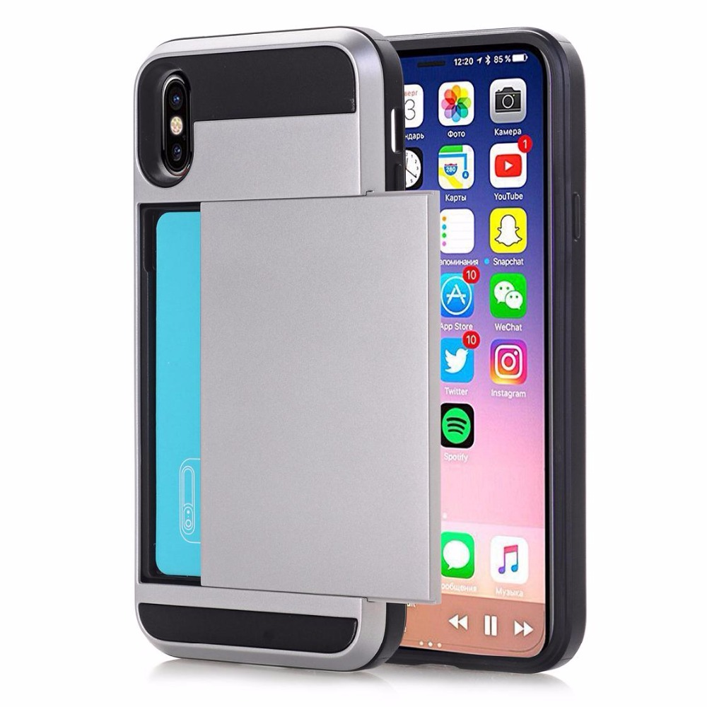 coque iphone x credit card