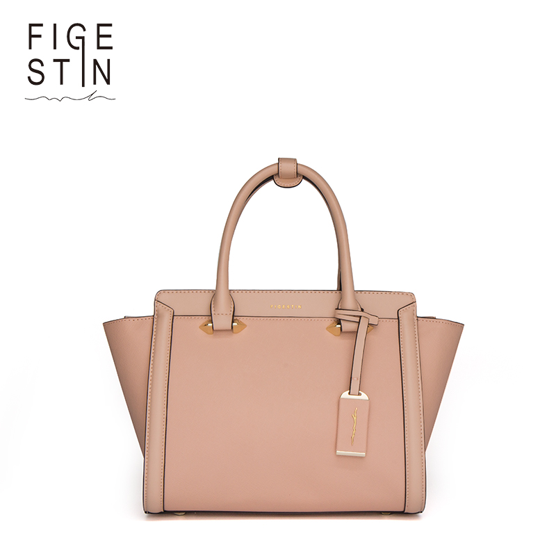 FIGESTIN Luxury Handbags Women Bags Designer Top-handle Bags Women Totes Leather Crossbody Bags Single Strap Shoulder Bags figestin mini top handle handbags for women fashion split leather green cover shoulder bags small totes crossbody hand bag new