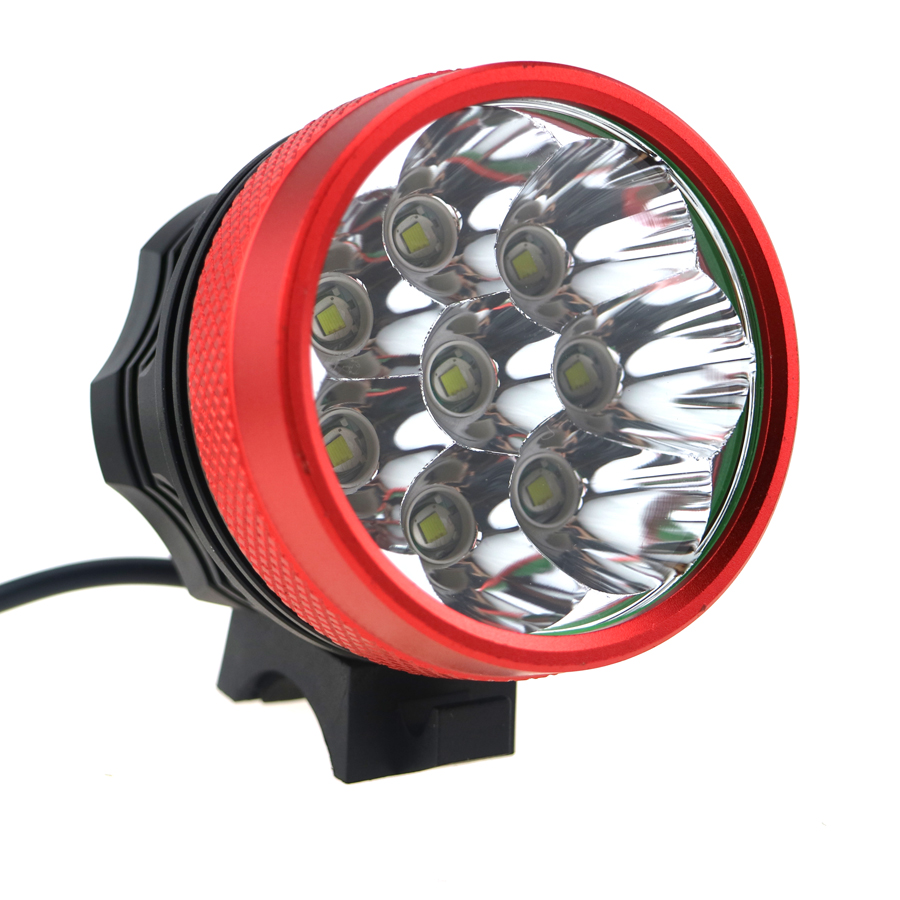 15000Lm 5 x CREE XM-L T6 LED Front Bicycle Light Bike Headlamp Camping Headlight