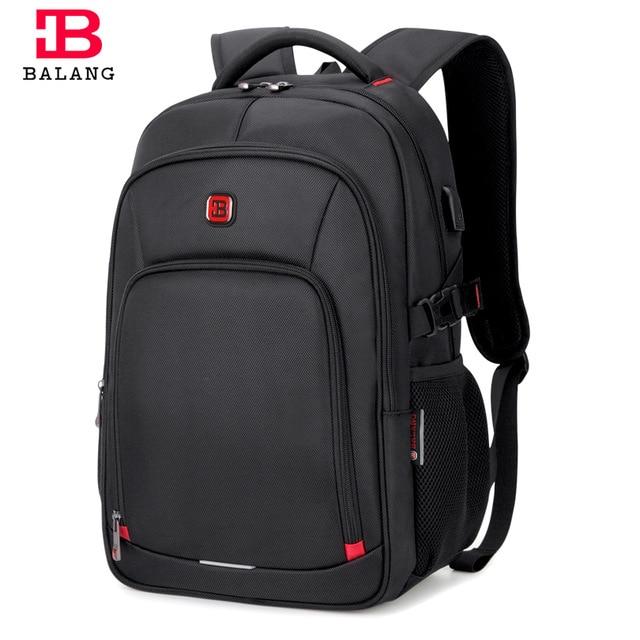"Balang 15.6"" Laptop Backpacks For Teenager Fashion Women Schoolbag New Waterproof Travel Backpack Men's Mochila Escolar Feminina"