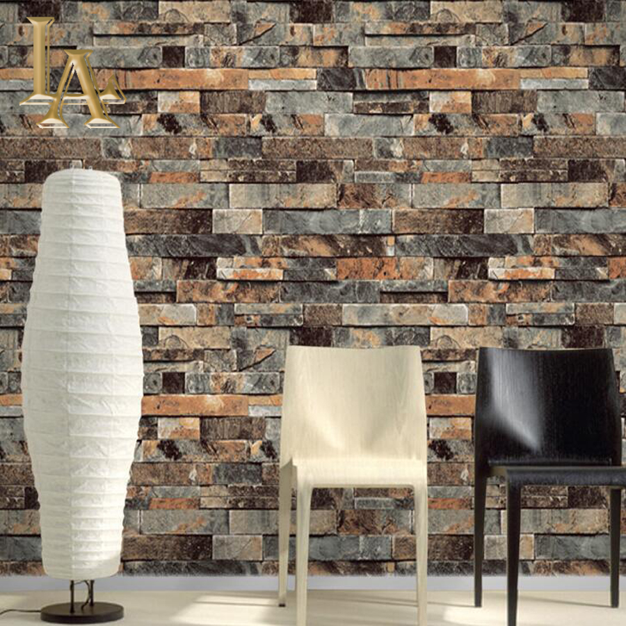 Online buy wholesale stone brick texture from china stone for Vinyl wallpaper for walls