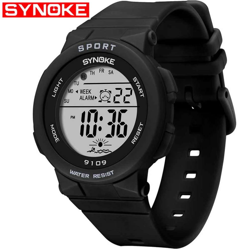 Watches Electronic-Watch Multi-Function Fashion 50m Waterproof Reloj Colorful Gift Student