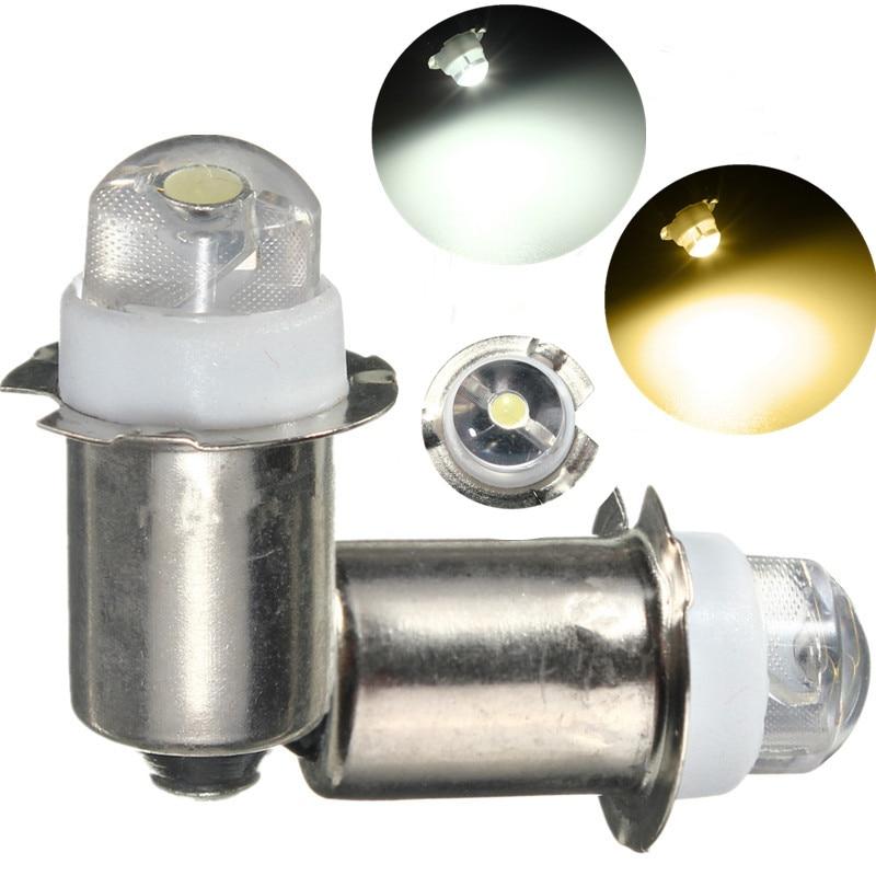 P13.5S PR2 0.5W LED Flashlight Replacement Bulb Durable 30Lumen High Brightness Emergency Work Light Pure Warm White DC3-18V
